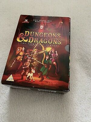 Dungeons And Dragons - Complete (DVD, 2004, Animated, Box Set) • 12.99£