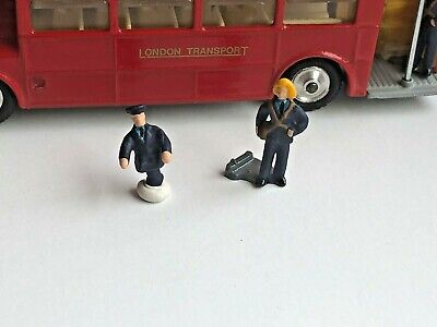 Corgi 468 Routemaster Bus - Replacement Driver / Conductor (Repro - Painted) • 3.60£