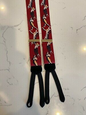 $9.99 • Buy Trafalgar RARE Limited Edition Dancers Tango EXC! Braces Suspenders Ltd Ed NR!