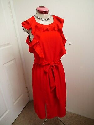 AU60 • Buy FOREVER NEW Red Ruffle DRESS Size 8 BNWT NEW Long Toneya Wedding Party Races Eve