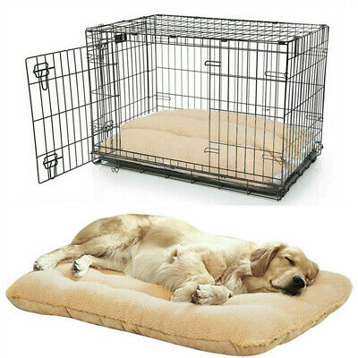 AU28.98 • Buy Extra Large Dog Bed Soft Foam Orthopedic Jumbo XL Warm Mattress For Crate Kennel