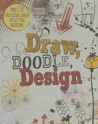 £3.23 • Buy Draw, Doodle, Design (Drawing Books)