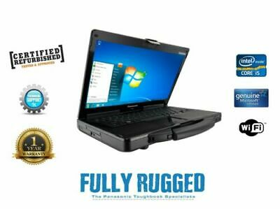 Build Your Own Spec Panasonic Toughbook CF-53 Mk3 I5 Win 7 Or 10 Touchscreen • 349.99£