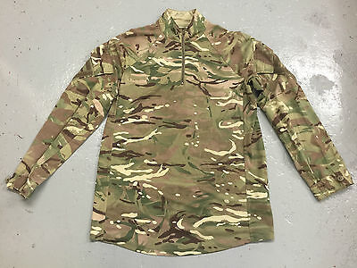 MTP DOUBLE CAMO UBAC LONG SLEEVE ARMOUR COMBAT SHIRT - Sizes , British Army NEW • 27.50£