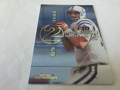 £3.65 • Buy 1999 Skybox Dominion Goal 2 Go Peyton Manning #S12 2nd Year Colts Broncos HOF
