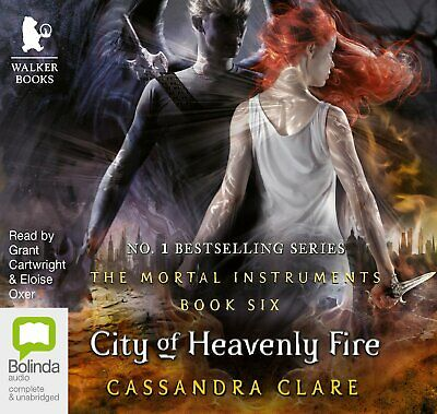 City Of Heavenly Fire (The Mortal Instruments Book 6 1-19 CDs)  Cassandra Clare • 30£