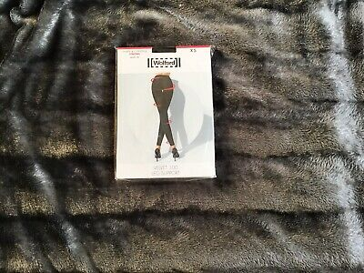 Wolford Velvet Black Leggings Xs (1 Item) • 20£