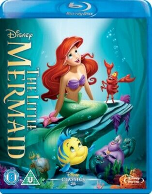 The Little Mermaid Blu-ray New & Sealed • 7.99£