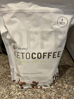 $14.40 • Buy Brand New It Works New And Improved Keto Coffee 15 Packets