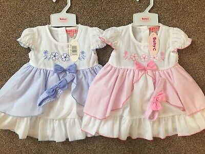 Baby Girls Dress Headband 6/12,12/18 & 18/24 Months New With Tags • 6.99£