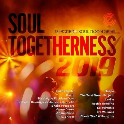 SOUL TOGETHERNESS 2019 15 Modern Soul Room Gems NEW & SEALED CD (EXPANSION) • 13.99£