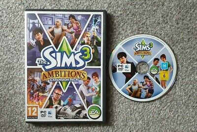 PC DVD ROM Mac The Sims 3 Ambitions Expansion Pack Game *FREE POSTAGE* • 4.99£