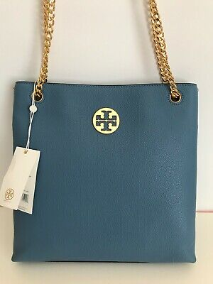 $169.99 • Buy Tory Burch EVERLY Swingpack In Blue Younder Handbag NWT $428