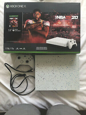 $265.58 • Buy Microsoft Xbox One X 1 TB NBA 2K20 Special Edition Paint (Game Not Included)