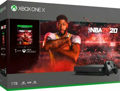 $198 • Buy Xbox One X 1TB Console - NBA 2K20 Bundle