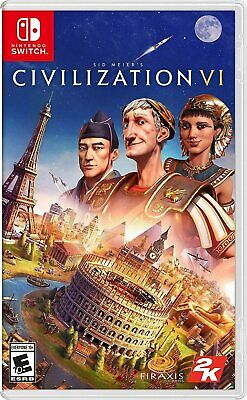 AU39 • Buy Civilization VI 6 Nintendo Switch Brand New Sealed