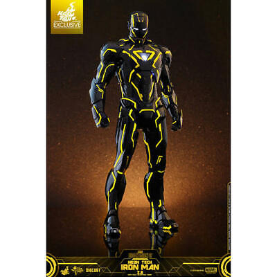 $ CDN1275.30 • Buy Specials Hot Toys Iron Man Mark 6 Neon Tech/Yellow Edition SIDESHOW Limited
