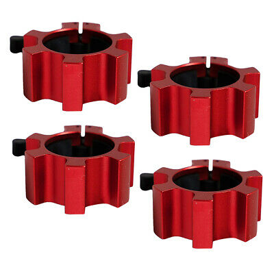 $ CDN56.42 • Buy 4Pcs Solid 2in Barbell Clamps Barbell Spin Lock Strength Training Parts