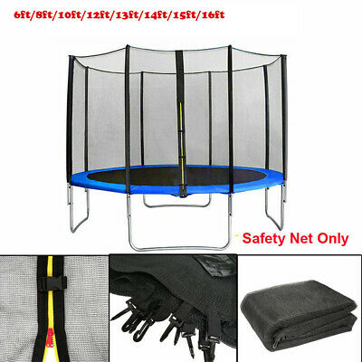 £79.73 • Buy Replacement Trampoline Safety Enclosure Net Protective Mesh Netting 10 Sizes