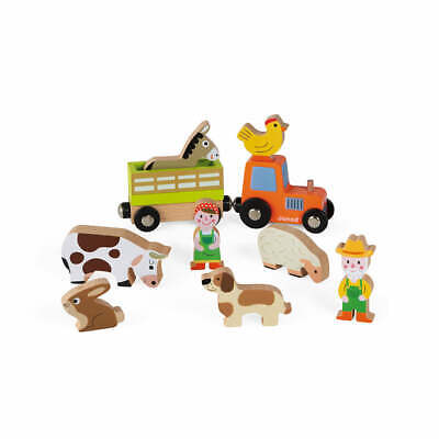 Janod Story Farm Set - Official UK Stock • 12.50£
