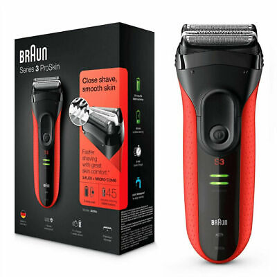 View Details Braun Series 3 ProSkin 3030s Electric Shaver For Men/Rechargeable Electric Razor • 49.99£