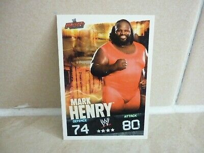 WWE Trading Card Mark Henry. ( RAW ) Slam Attax Evolution • 0.99£