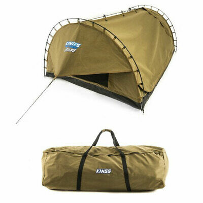 AU283.10 • Buy Adventure Kings Big Daddy Deluxe Double Swag + Canvas Bag Camping Outdoor Tent