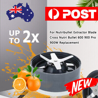 AU31.99 • Buy Blender Pro Replacement Extractor Cross Blade FOR Nutribullet 900W 600W 900