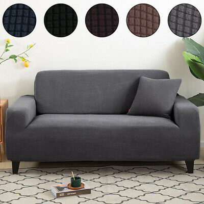 AU27.99 • Buy 1-4 Seater Sofa Covers Couch Cover Recliner Lounge Protector Slipcovers Stretch