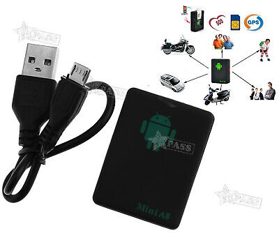 Genuine Vehicle Mini Car GPS Tracker Device For Spy Personal Real Time Tracking • 10.63£