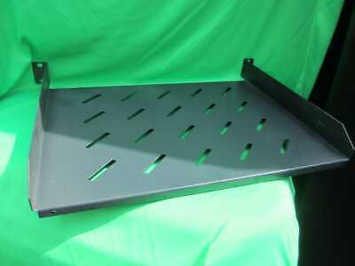 19  Racking System Shelf - 1U Slotted 35cm Deep With 3cm Access At Back • 15£