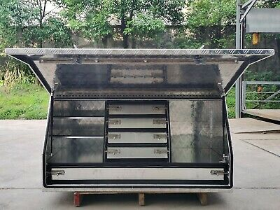 AU899 • Buy Aluminium Toolbox 1400mm X 700mm With 5 Drawers Heavy Duty Ute Truck Tool Box
