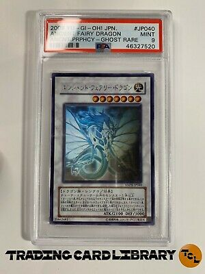 AU249.95 • Buy PSA 9 - Yugioh - Ancient Fairy Dragon - Ghost Rare - ANPR-JP040 - Japanese