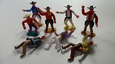 £15 • Buy Timpo Cowboys From The 70s Quantity 5 Good And 3 Ugly Not A Bad One In Sight!