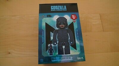 $200 • Buy SDCC 2019 BAIT Medicom And Godzilla: King Of The Monsters 400% 100% Bearbrick