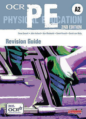 £4.40 • Buy OCR A2 PE Revision Guide By Sarah Powell, John Ireland, Sarah Van Wely, Dave...