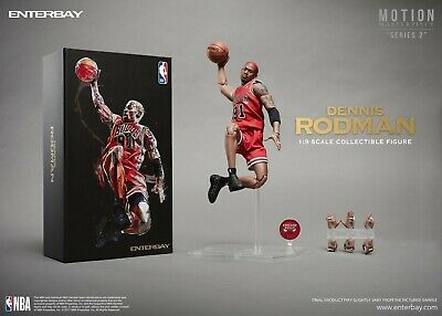 $249.95 • Buy NBA Motion Masterpiece Dennis Rodman 1/9 Scale Figure 🏀