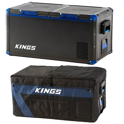 AU1003 • Buy Kings 90L Camping Fridge Freezer + 90L Fridge Cover