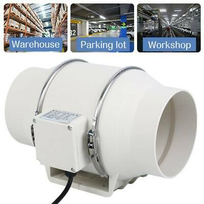 AU58.83 • Buy 6 Inch Fan Extractor Duct Hydroponic Inline Exhaust Industrial Vent 75W 150mm