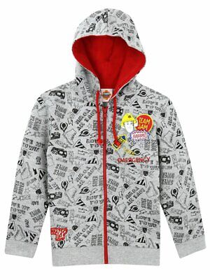 Fireman Sam Boys Sweatshirt Zip Hoodie Hoody 18-24 Months Brand New In Packaging • 10.99£