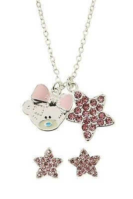 £8.49 • Buy Me To You Tatty Teddy Necklace & Earrings New In Gift Box Jewellery Present
