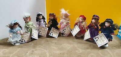 $ CDN48.34 • Buy Lot Of 8 Porcelain Dolls Limited Edition- Greenbrier International(FC15-TB-G142)