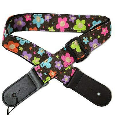 AU12.80 • Buy Adjustable Ukulele Shoulder Cotton Strap Belt Soft For Ukulele Hawaiian Guitar