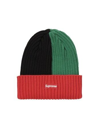"$ CDN136.11 • Buy Supreme Overdyed Beanie Mixed Red SS20 ""Gucci Color Way"""
