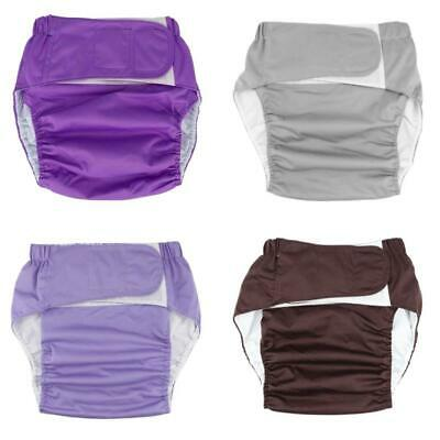 £9.94 • Buy Reusable Adult Cloth Diaper Pocket Urinary Incontinence Briefs For Elders