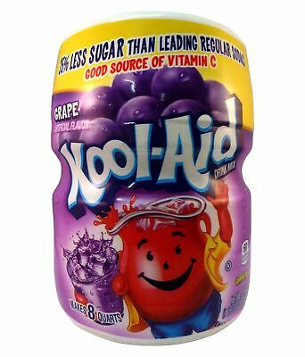 Kool-Aid Grape Drink Mix Makes 8 Quarts 538g Tub • 5.99£