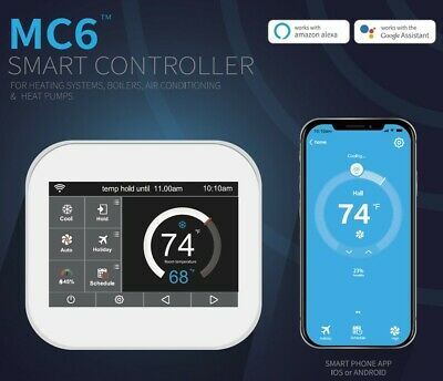 AU110 • Buy Smart Heating/Cooling Thermostat Controller MC6