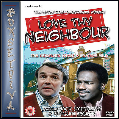 AU79.95 • Buy Love Thy Neighbour -complete Series 1 - 8 Plus Feature Film Brand New Dvd Boxset
