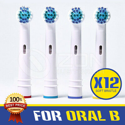 AU9.88 • Buy Oral B Compatible Electric Toothbrush Replacement Brush Heads X12- FLOSS ACTION