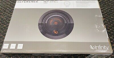 $89.98 • Buy Infinity Reference REF-375TX Reference Series 3/4  Textile Dome Tweeters Harman